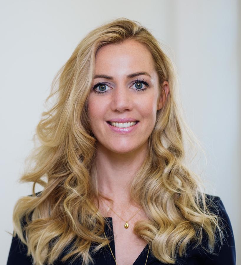 Geschäftsführerin Sarah Gayer